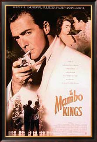 The Mambo Kings Pôster emoldurado
