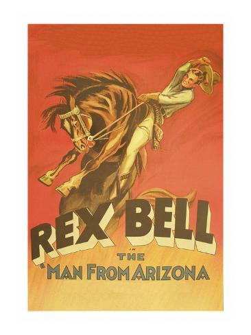 The Man from Arizona Art Print