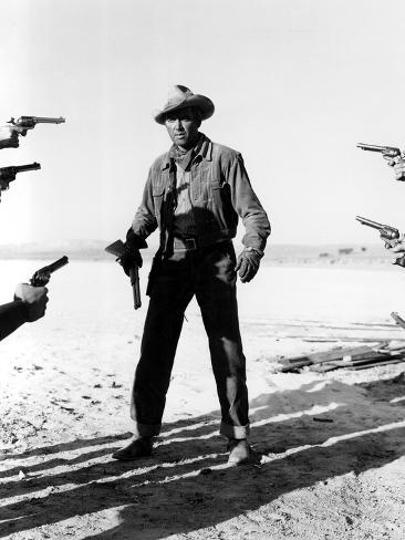 The Man From Laramie, James Stewart, 1955 Fotografía