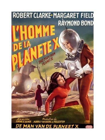 The Man from Planet X, (aka L'Homme De La Planete X), 1951 Lámina giclée