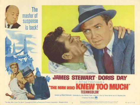 The Man Who Knew Too Much, 1956 Art Print
