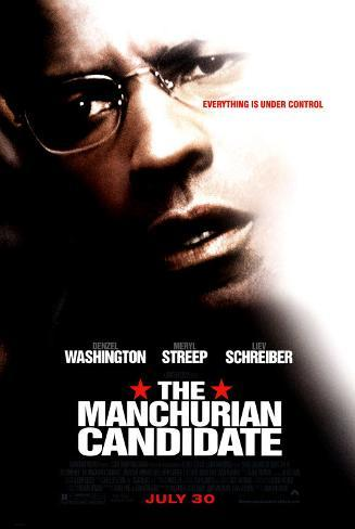 The Manchurian Candidate Double-sided poster