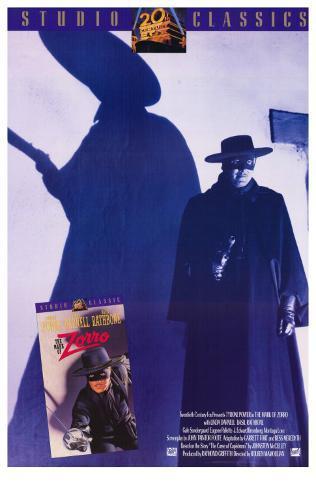 The Mark of Zorro, 1940 Masterprint