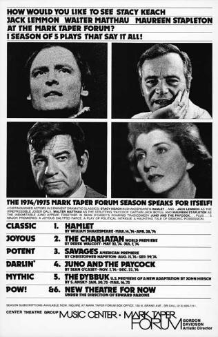 The Mark Taper Forum - Broadway Poster Masterprint