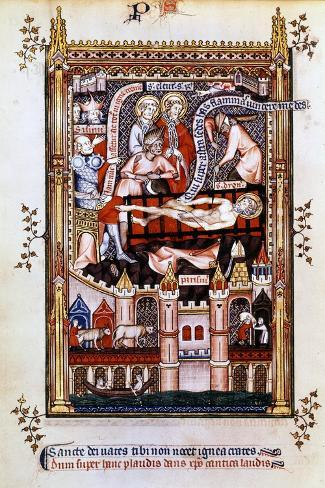 The Martyrdom of St Denis, 1317 Giclee Print
