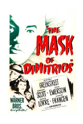 The Mask of Dimitrios Art Print