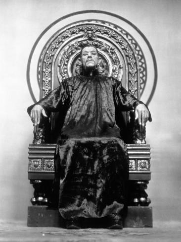 The Mask of Fu Manchu, 1932 Photographic Print
