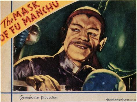 The Mask of Fu Manchu, 1932 Art Print