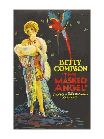The Masked Angel Art Print