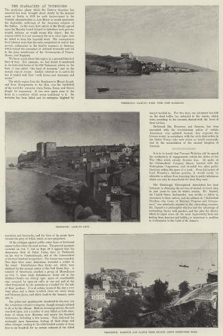 The Massacres at Trebizond Giclee Print