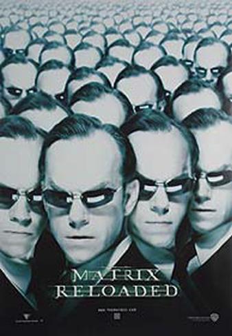 The Matrix Reloaded - Morpheus Póster