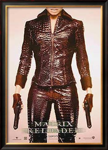 The Matrix Reloaded Pôster emoldurado