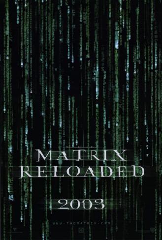 The Matrix Reloaded Pôster