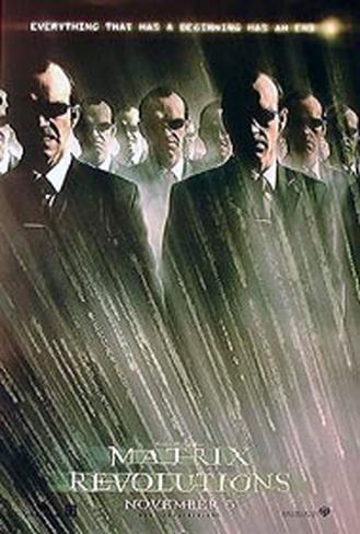 The Matrix Revolutions Pôster dupla face