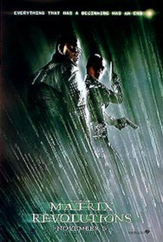 The Matrix Revolutions Double-sided poster
