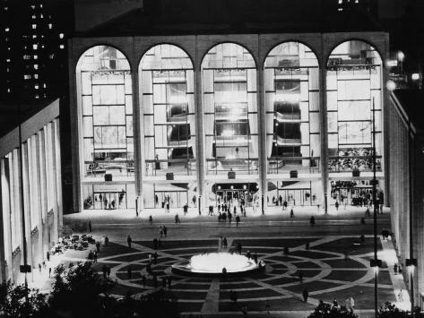 The Metropolitan Opera House, Lincoln Center, New York, 1969 Photo