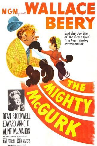 The Mighty Mcgurk Art Print