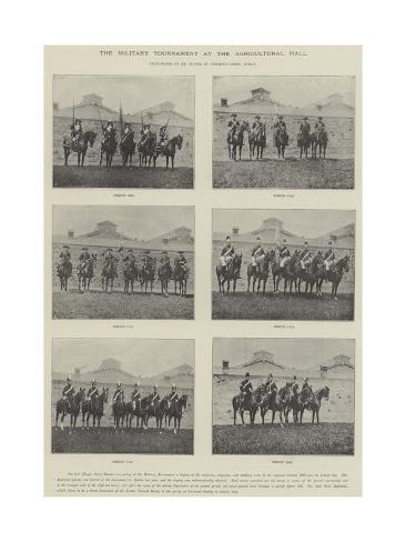 The Military Tournament at the Agricultural Hall Giclee Print