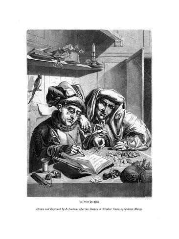 The Misers, C1480-1530 Giclee Print