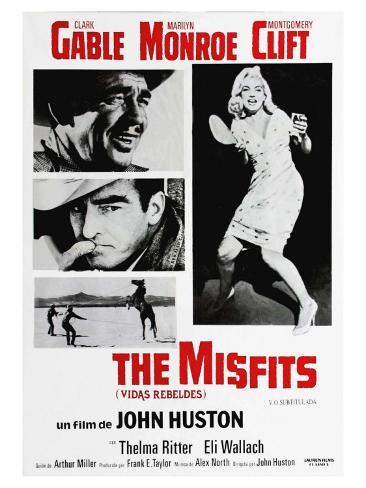The Misfits, 1961 Lámina