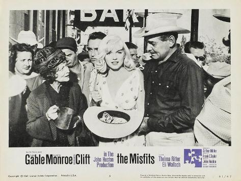 The Misfits, 1961 Premium Giclee Print