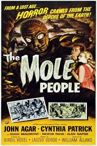 The Mole People Art Print