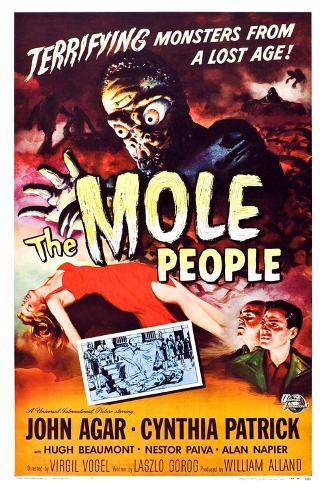The Mole People Lámina