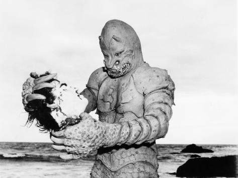 The Monster of Piedras Blancas, Pete Dunn, 1959 Foto