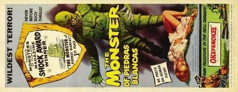 The Monster of Piedras Blancas Poster