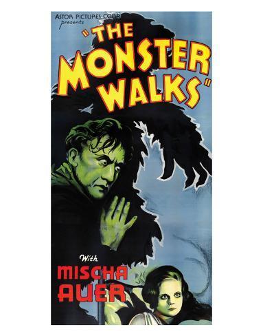 The Monster Walks - 1932 I Impressão giclée