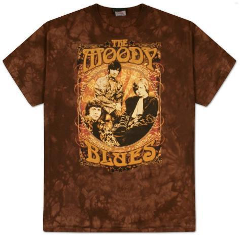 The Moody Blues -  Vintager Poster T-Shirt
