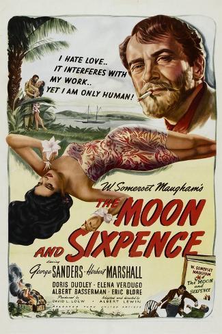 The Moon and Sixpence, Elena Verdugo, George Sanders, 1942 Art Print