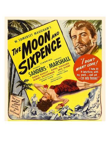 The Moon and Sixpence, Elena Verdugo, George Sanders on Window Card, 1942 Photo