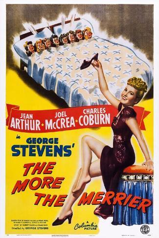 The More the Merrier, Jean Arthur, 1943 Art Print