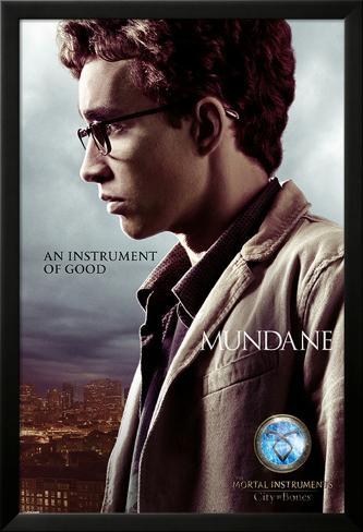The Mortal Instruments City Of Bones (Simon) Lamina Framed Poster