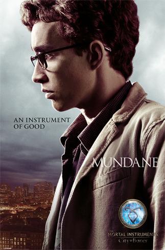 The Mortal Instruments City Of Bones (Simon) Pôster