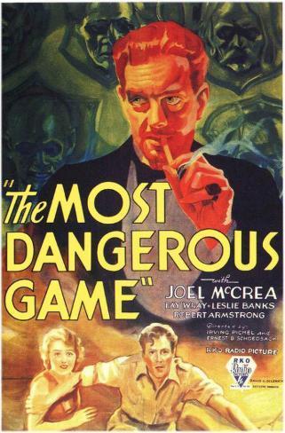 The Most Dangerous Game Impressão original