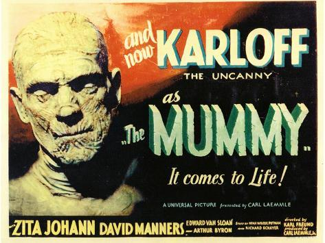 The Mummy, 1932 Art Print
