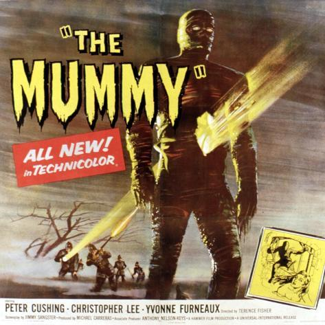 The Mummy, Christopher Lee, 1959 Photo