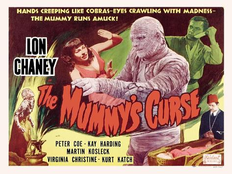 The Mummy's Curse, 1944 Art Print
