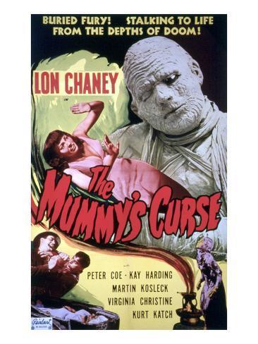 The Mummy's Curse, Virginia Christine, Lon Chaney, Jr., 1944 Photo