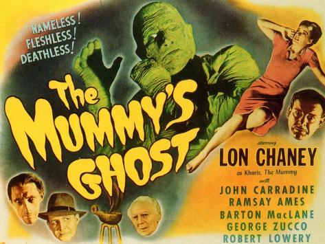 The Mummy's Ghost, 1944 Art Print