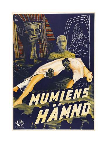 The Mummy's Hand Art Print