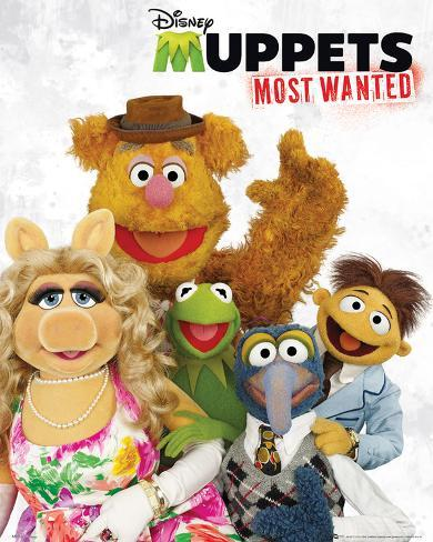 The Muppets Most Wanted - Cast Mini poster