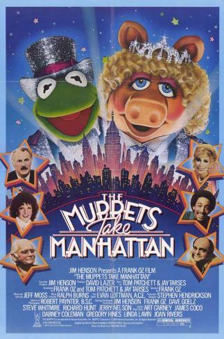 The Muppets Take Manhattan Masterprint