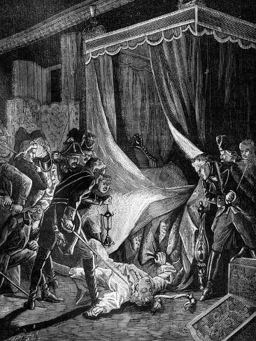 The Murder of Tsar Paul I of Russia, March 1801 (1882-188) Giclee Print
