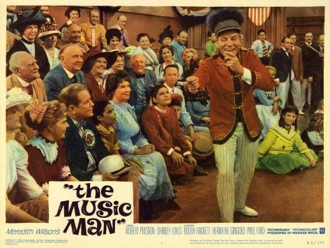 The Music Man, 1962 Art Print