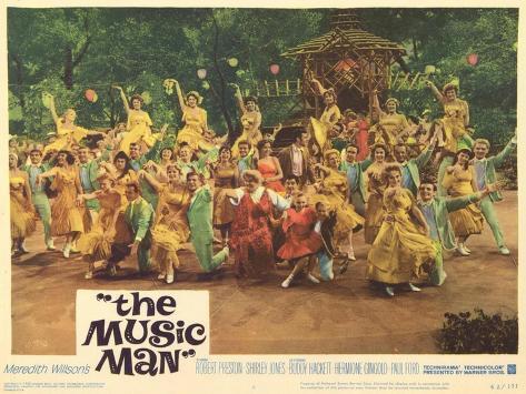 The Music Man, 1962 Art Print