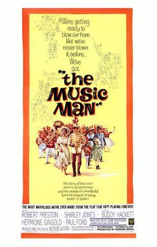 The Music Man Masterprint