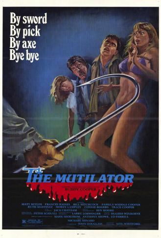 The Mutilator Pôster